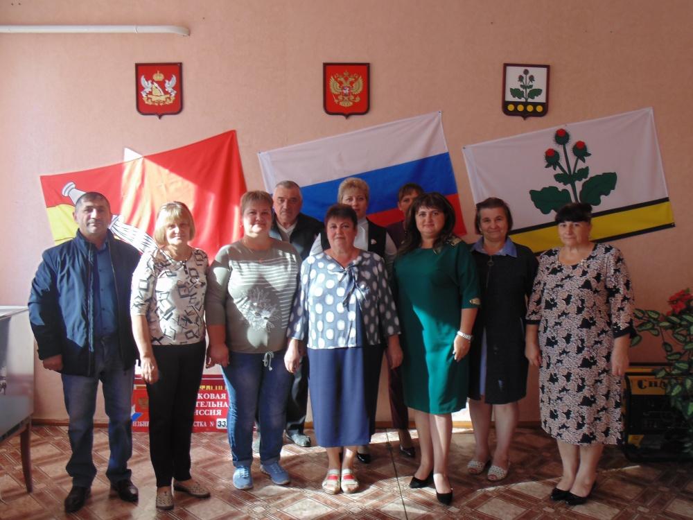 Депутаты Совета народных депутатов Россошанского сельского поселения шестого созыва