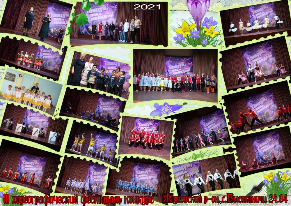 В Высокиничском СДК состоялся lII районный хореографического фестиваль-конкурс «Танцуй пока молодой» .