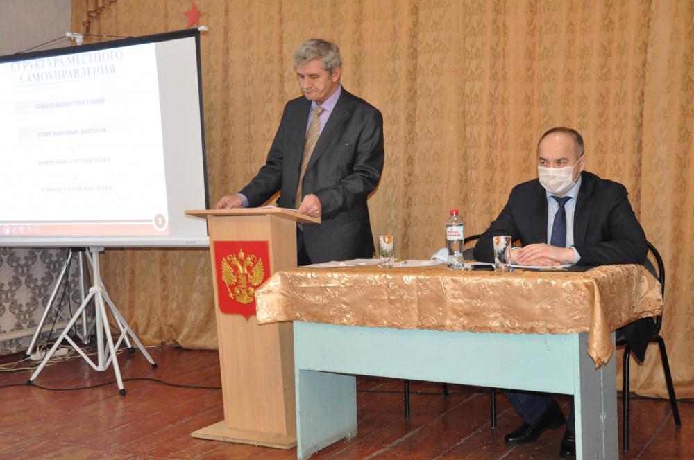 Отчет главы о результатах своей деятельности и деятельности администрации поселения за 2020 год