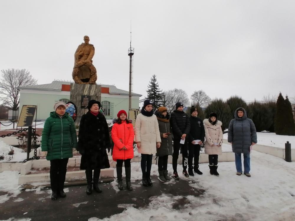 Митинг посвященный освобождению Подгоренского района от немецко-фашистских захватчиков