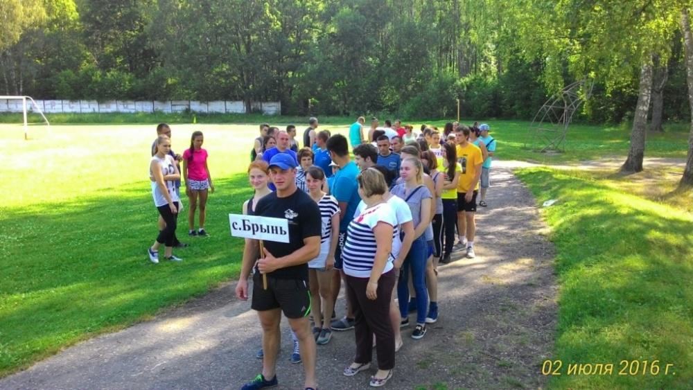 2 июня на стадионе «Центральный» в п. Думиничи прошли 7 районные сельские игра.