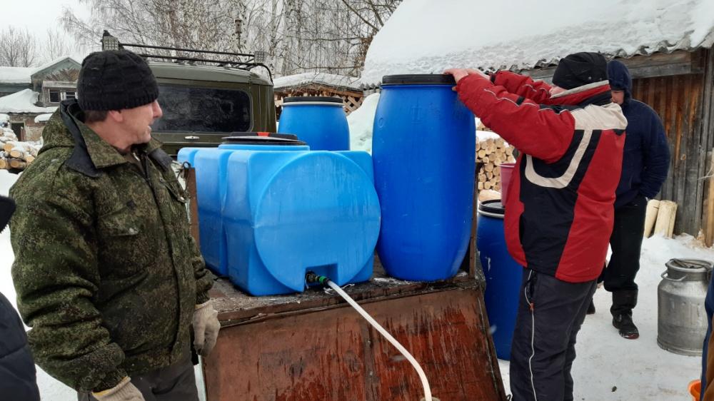 Информация по отсутствию холодного водоснабжения.