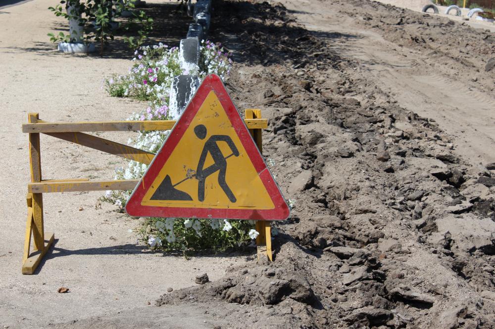 В станице Камышеватской отремонтируют участок дороги