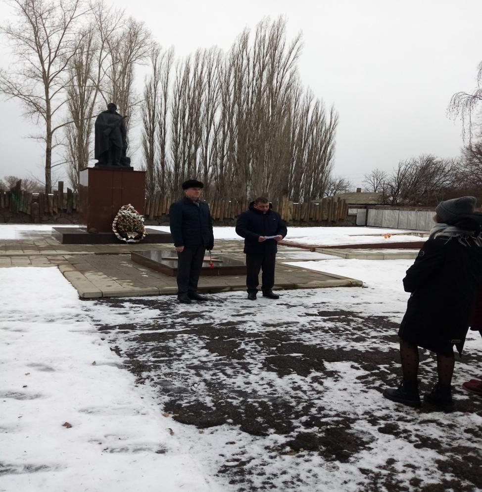 27 января в с. Кочетовка состоялось мероприятие посвященное  77-летия  освобождения села от немецко-фашистских захватчиков .