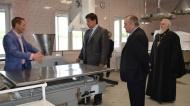 В нижнедевицком поселке Курбатово заработал новый хлебозавод