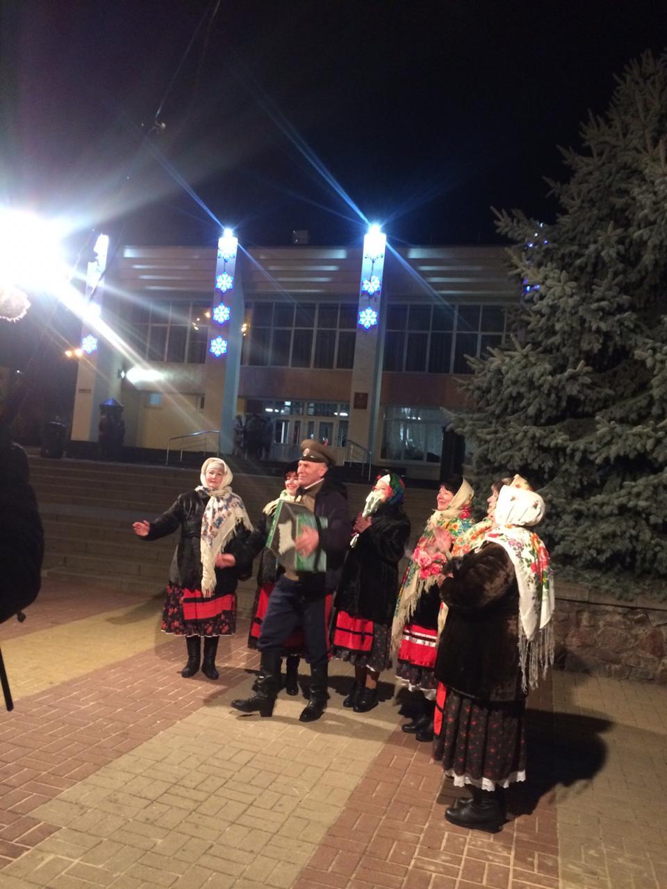 2 декабря, в г. Лиски, гармонист Игорь Игнатов из Ольховатского сельского поселения принял участие в записи программы  Первого канала «Играй, гармонь любимая!»
