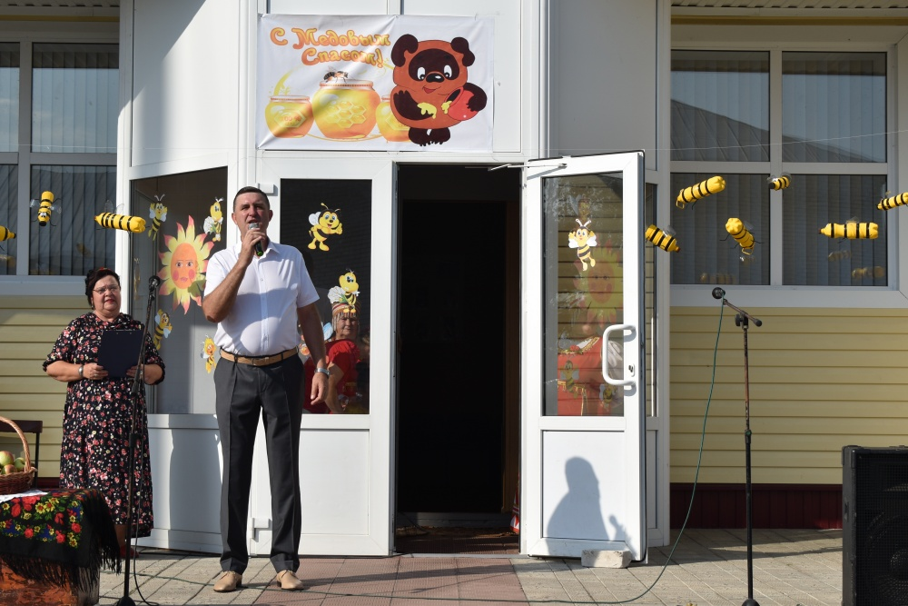 14 августа 2019 года в с. Вознесеновка был проведен праздник «Медовый Спас»