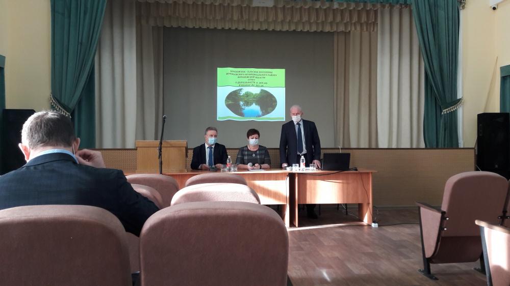 Отчет главы Березовского сельского поселения за 2020 г.