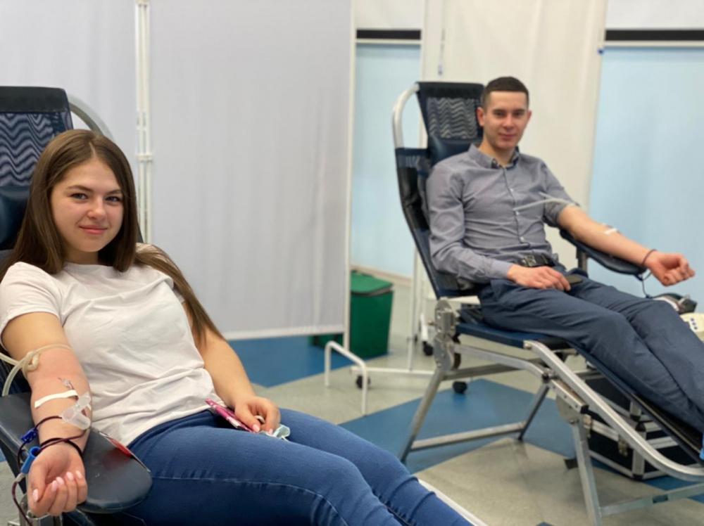 Самарские волонтеры-молодогвардейцы помогут нуждающимся в переливании плазмы и крови