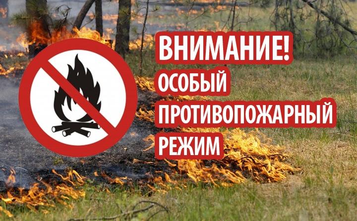 Об установлении особого противопожарного режима на территории Терновского района