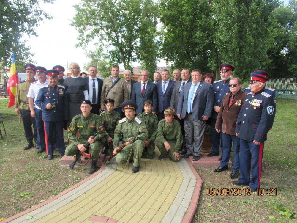 6 августа 2019г в  селе Землянск почтили память 226-пехотного Землянского полка, отстоявшего крепость Осовец в Первую мировую войну.
