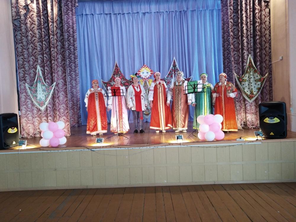 1 марта в Никольском  СДК состоялось праздничное гуляние «Сударыня Масленица».