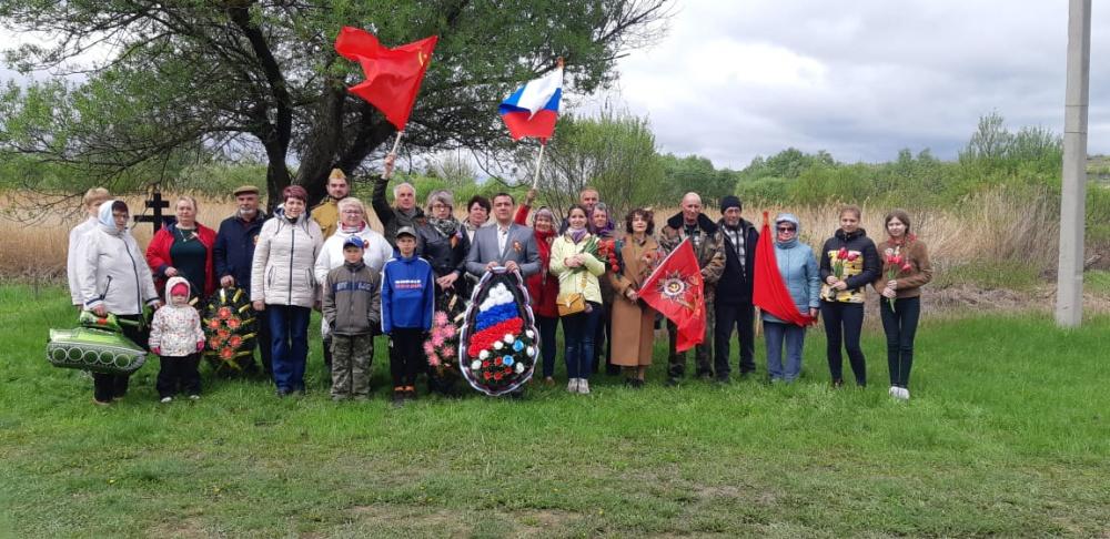 В честь 76-й годовщины Победы в Великой Отечественной войне.