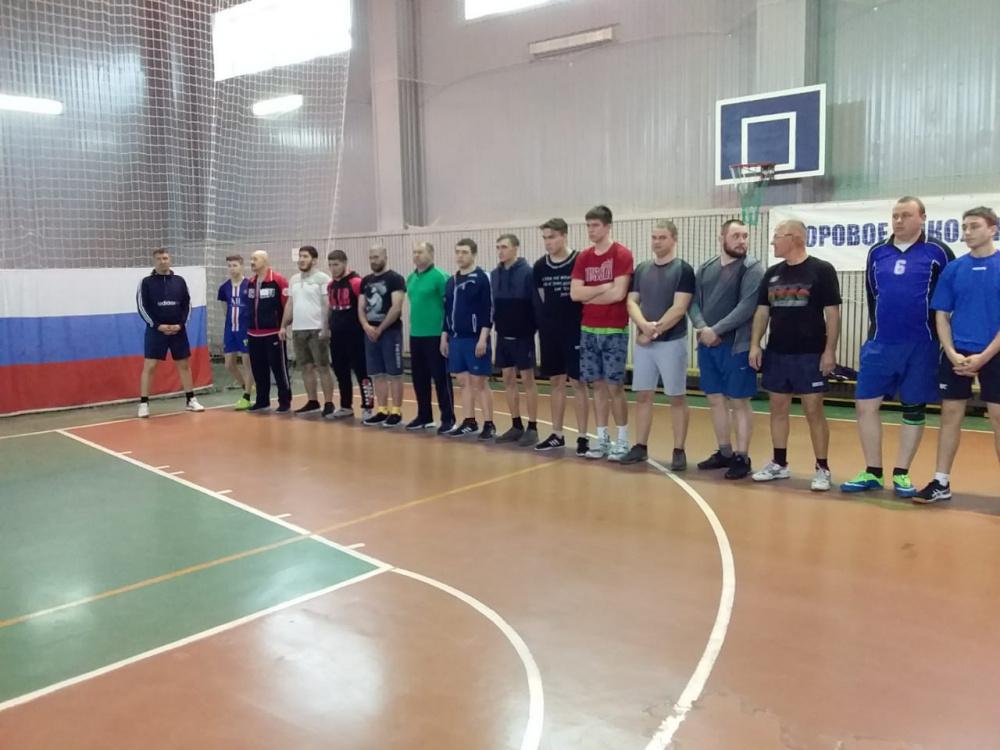 Мужской турнир по волейболу