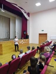 27 января прошла тематически - информационная программа посвященная Дню снятия блокады Ленинграда.