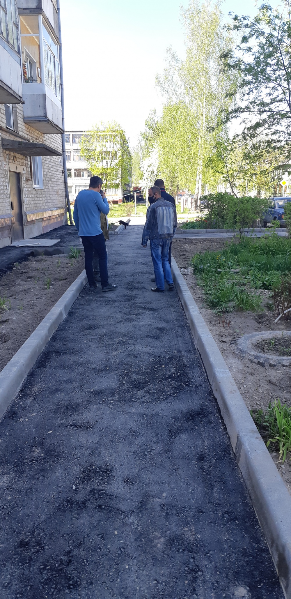 Асфальтирование дворовых территорий многоквартирных домов 2 и 6а по ул.Пионерская