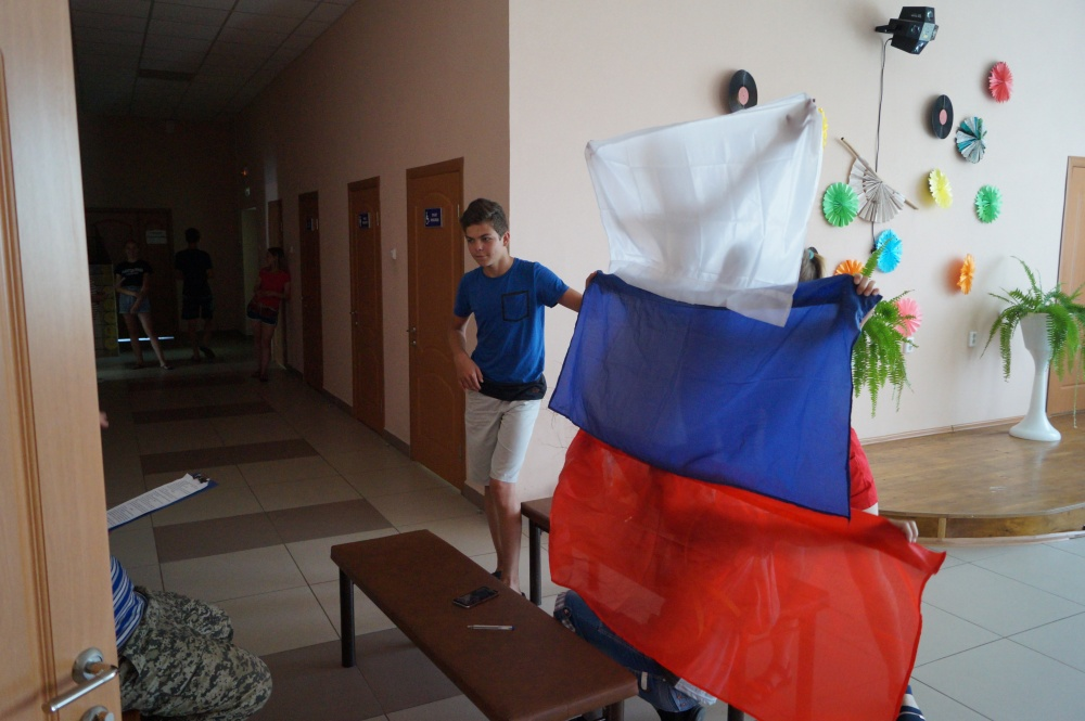 12 июня  прошла игра –путешествие «Я живу в России» посвященный Дню России.