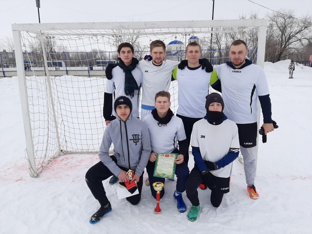Турнир по футболу на снегу в память Александра Гордеева