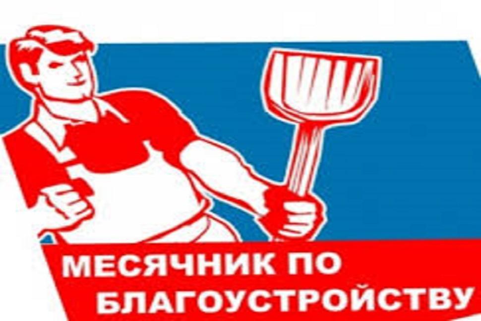 О  проведении  месячника по благоустройству  и  наведению  порядка  на  территории  Краснянского  сельского  поселения