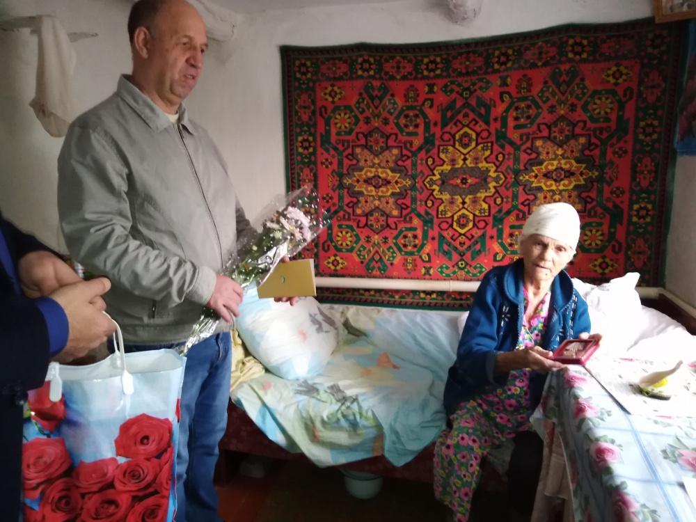 Поздравление тружениц тыла и вдов участников Великой Отечественной Войны с наступающим праздником