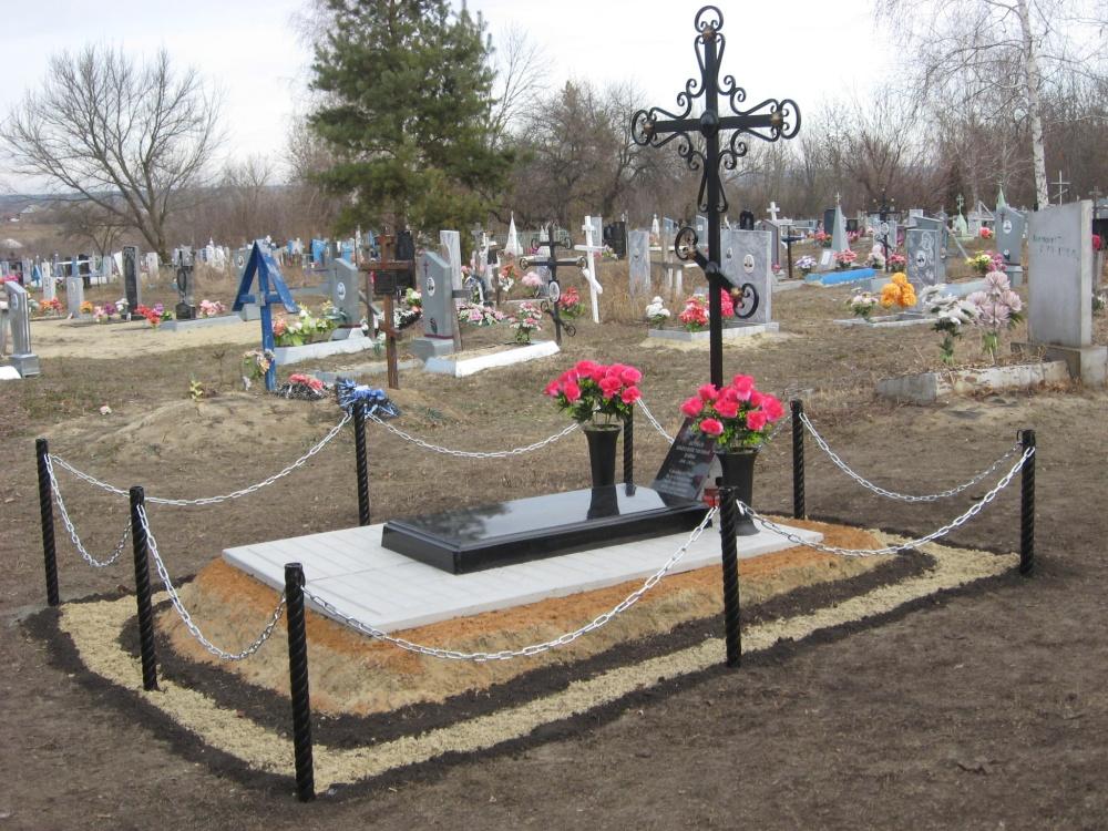03.11.2020 года установили на сельском кладбище Крест в память о расстрелянных в годы Гражданской войны земляках жители села Дерезовка.