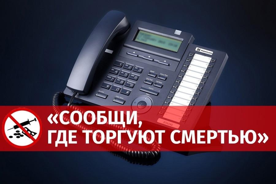 В Костромской области стартовала общероссийская акция «Сообщи, где торгуют смертью!»