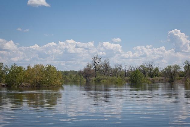В Волгоградской области контролируют паводковую ситуацию на малых реках