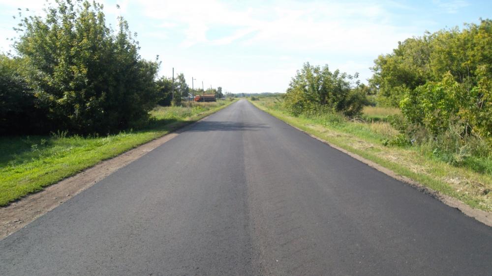 Построены дороги в поселках