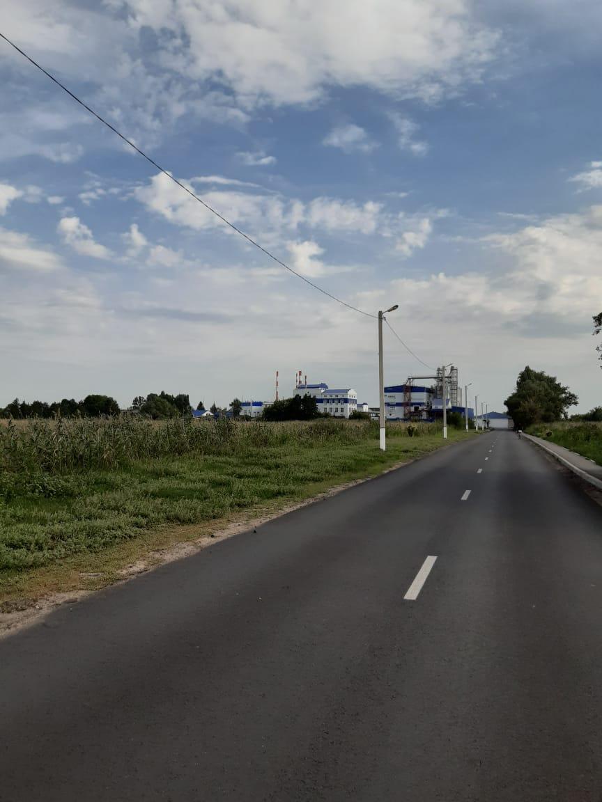 Ремонт дорог в с.Красное