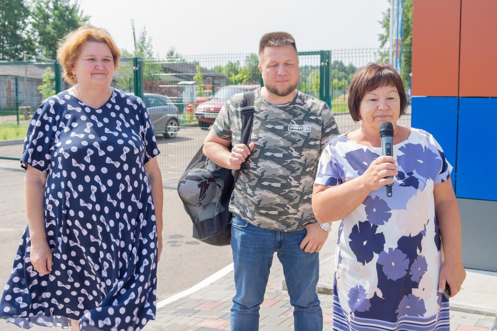 Приезд Депутата ЗС С.Е.Кондюрина в Мятлево