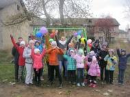 Открытие детской площадки пос. Фанерник 22 октября 2017г.