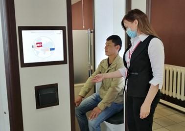Центр «Мои Документы» в г.Лиски приступил к выдаче биометрических загранпаспортов с помощью криптобиокабины
