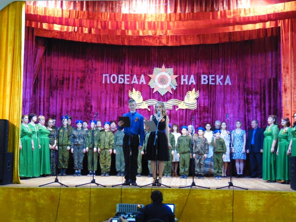 7 марта участники художественной самодеятельности Лозовского центра культуры выступили с творческим отчётов в Гороховском центре культуры