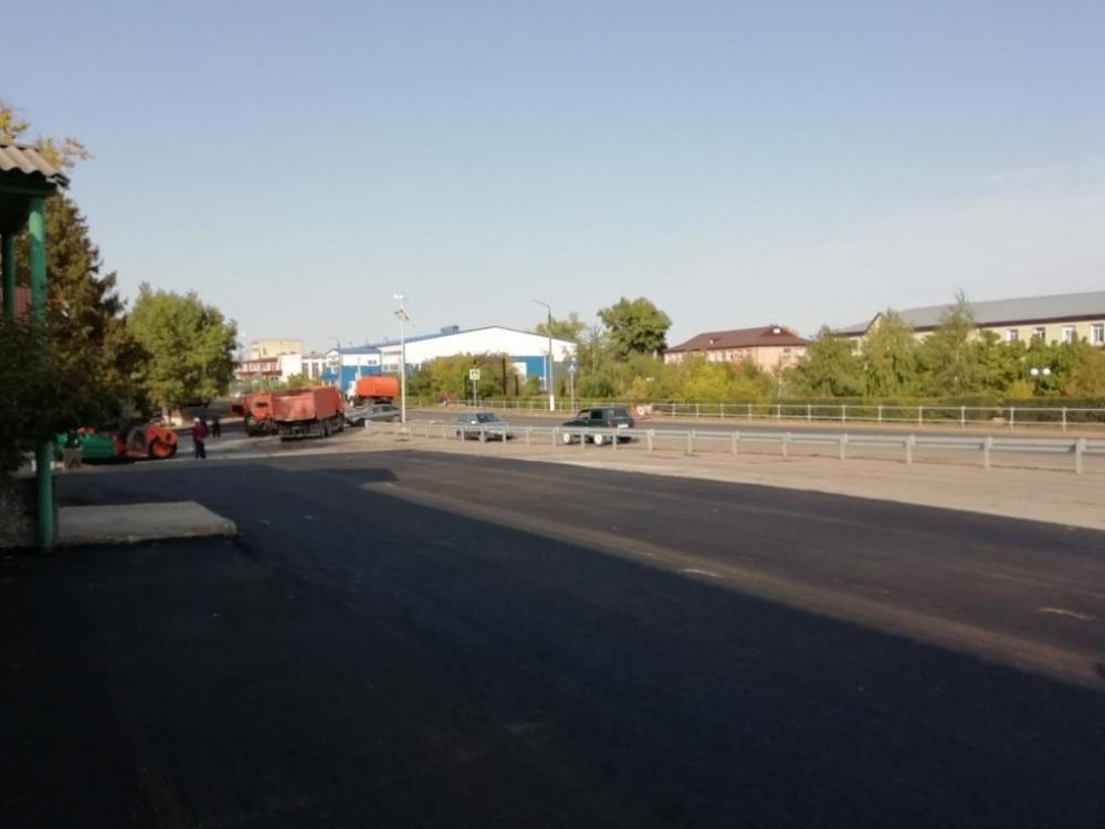 Завершено благоустройство территории возле автостанции
