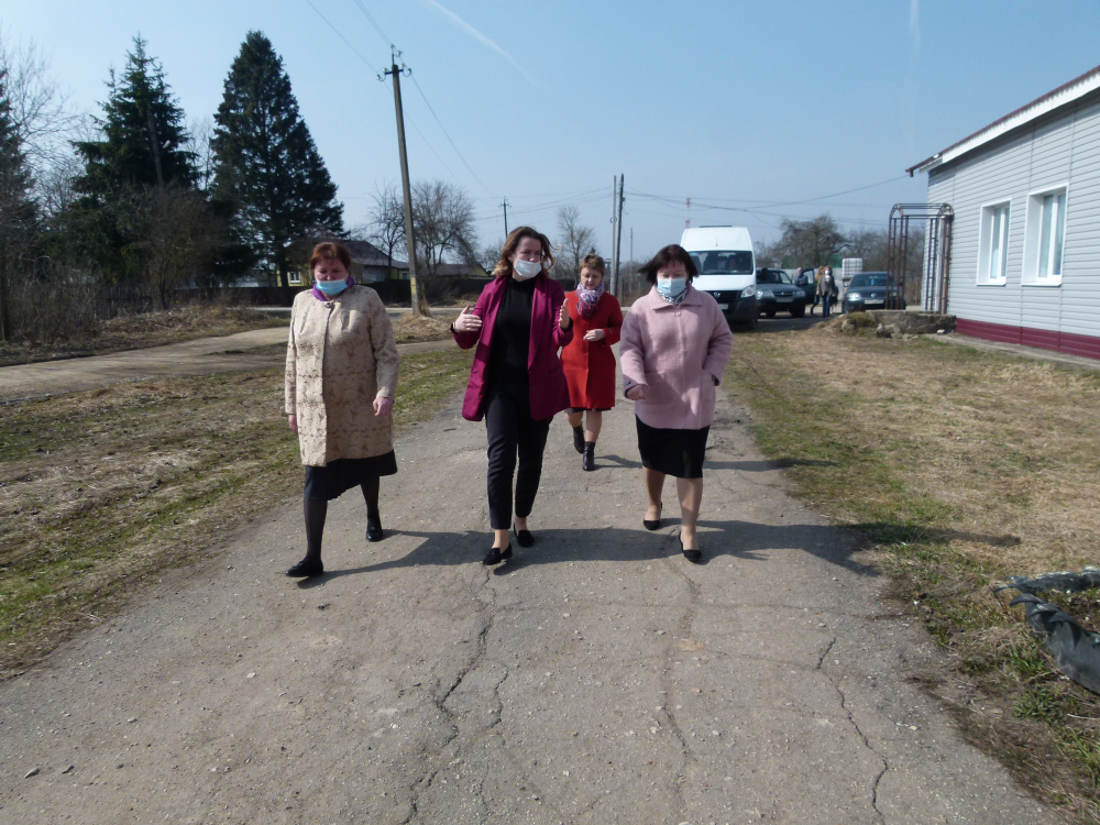Ольга Коробова посетила с рабочим визитом Мятлевскую амбулаторию