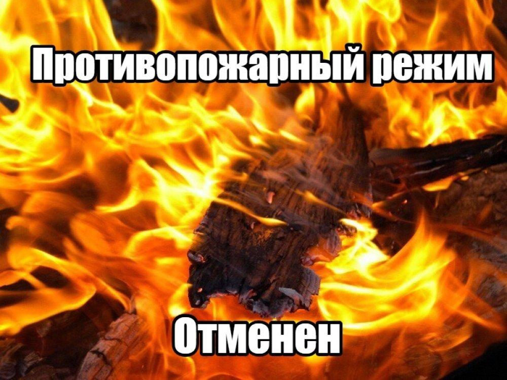 Постановление правительства Тульской области № 566 от 09.09.2021 Об отмене особого противопожарного режима