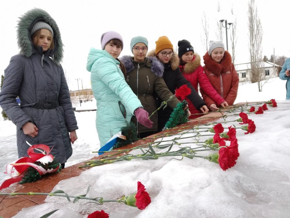Митинг посвященный освобождению г. Воронежа от фашистских захватчиков