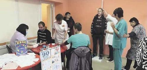 В Терновской районной больнице прошел «Субботник здоровья»