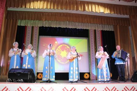 """Районный гала - концерт  """"Поет село родное""""."""