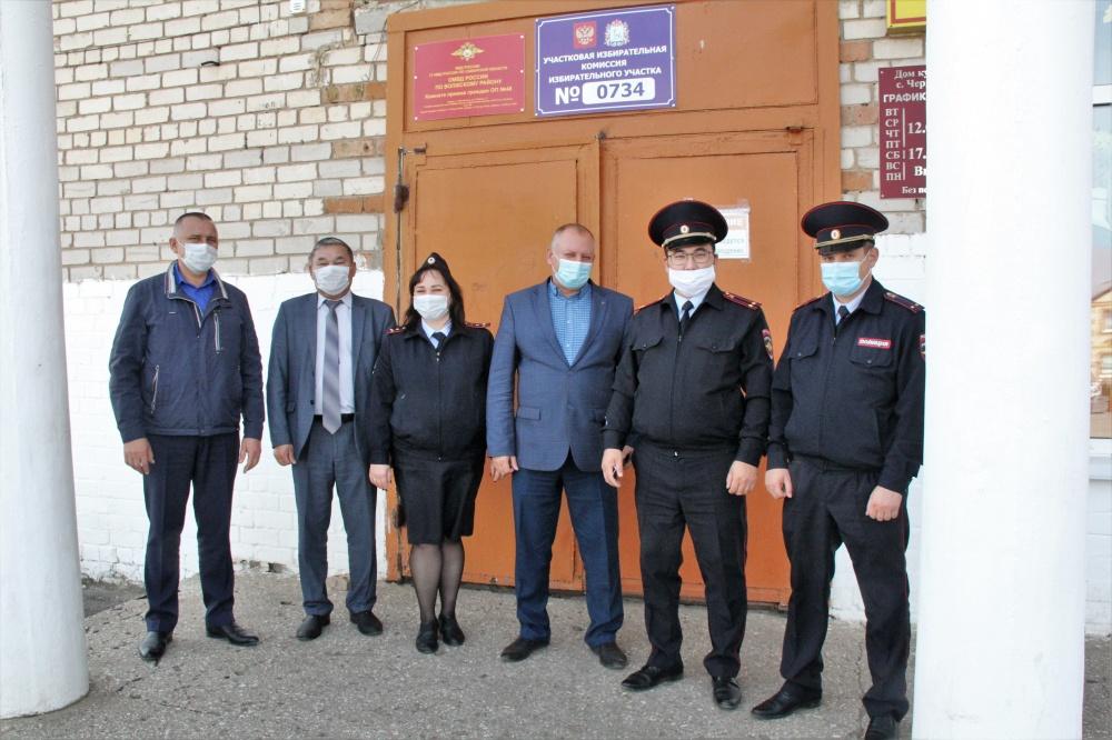 В Волжском районе открылся новый участковый пункт полиции