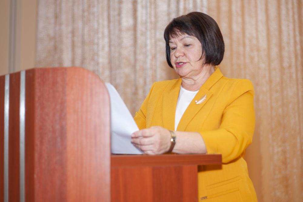 Глава администрации отчиталась о проделанной работе за 2020 год