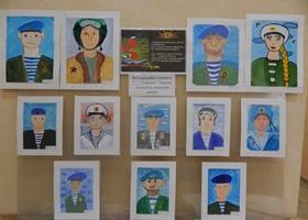 Выставка творческих работ к  75- летию великой Победы.