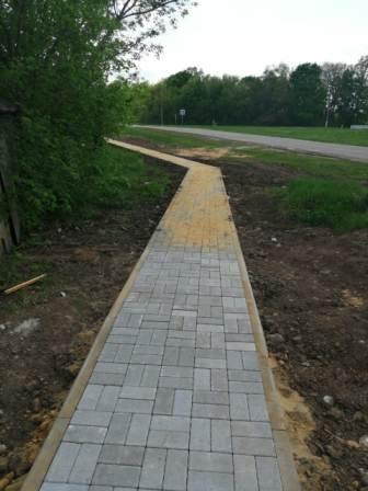 О строительстве тротуаров в с.Лещаное