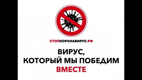 Ссылка на сайт Стопкоронавирус.рф
