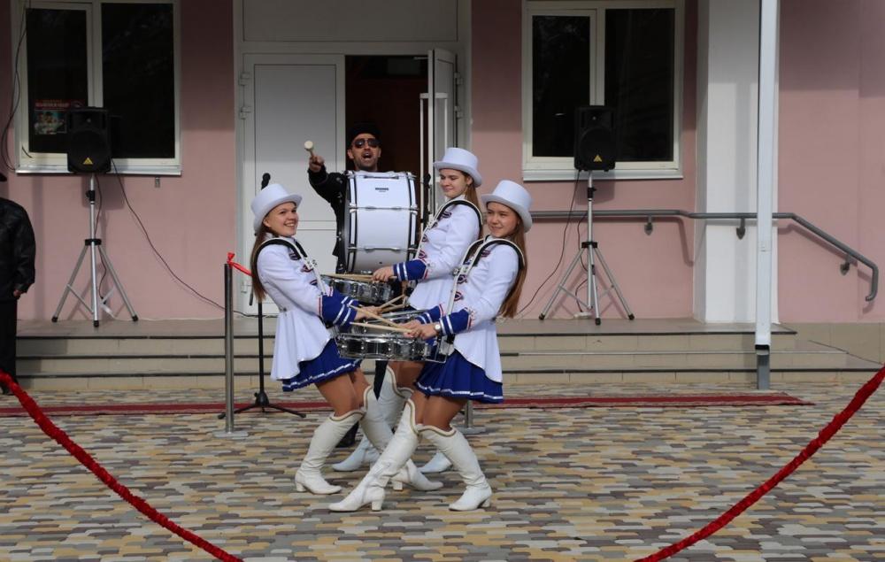 Открытие площади Народного единства в Прикубанском сельском поселении