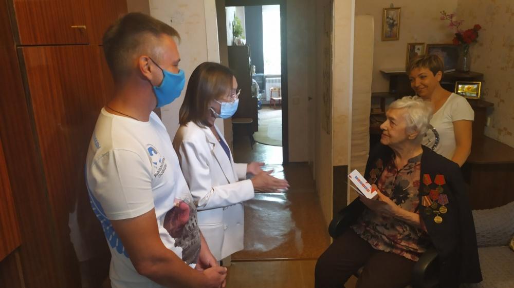 В Самарской области дан старт акции «Телефон фронтовикам»