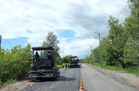 о ремонте дорог в Попутненском сельском поселении
