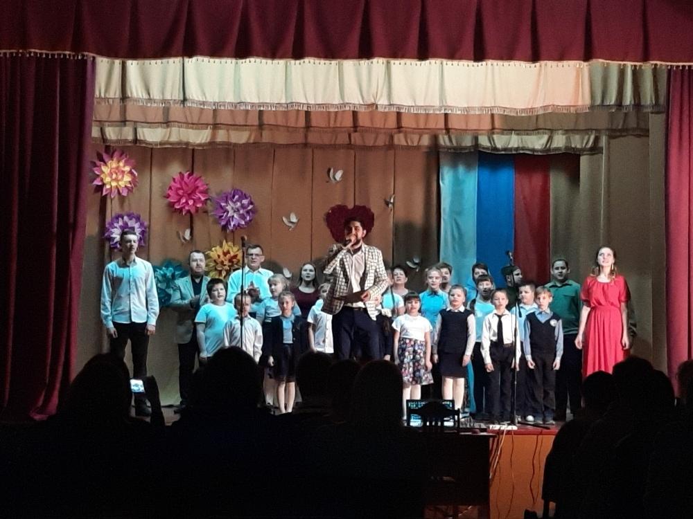 11 марта состоялся Отчетный концерт Ермоловского сДК