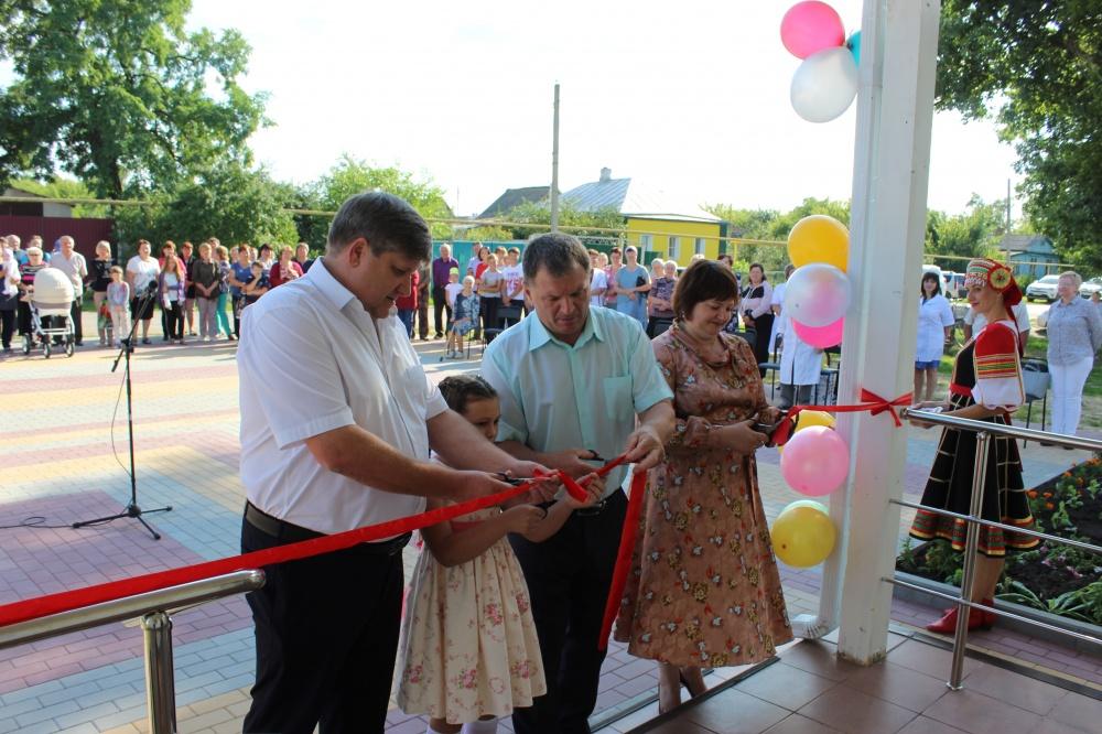 Торжественное открытие Манинской амбулатории