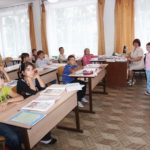 Урок в Алькинской школе